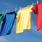 Mẹo giặt áo thun khi mới mua