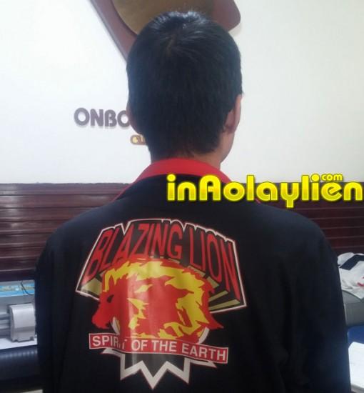 Mẫu in áo khoác lấy liền thực hiện tháng 8/2015